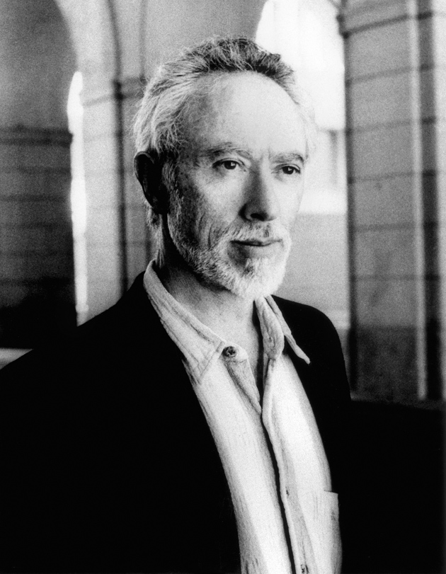 J.M. Coetzee, Rome, mid-2000s; photograph by Jerry Bauer